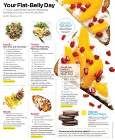 Tools for diet planning