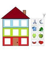 Kleurenspel voor kleuters, free printable Family Theme, File Folder Games, Educational Games For Kids, Games For Toddlers, My Little Baby, Preschool Worksheets, Infant Activities, Early Learning, Diy For Kids