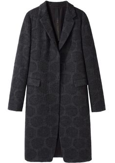 Dot Print Coat by Forme d'Expression