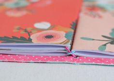 As a fabric and planner lover, I've been seeing some amazing traveler's notebooks made out of fabric. A traveler's notebook {the brand name is Midori}, if you're not familia…
