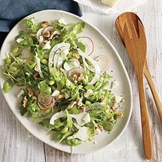 Fava Bean Salad with Fennel and Radish | MyRecipes.com