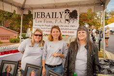 Jebaily Law Firm booth at the 2013 Pecan Festival #florenceunlocked