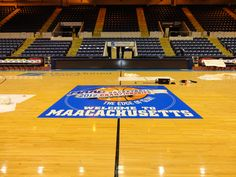 Mass Mutual Center _ MAAC Championship Floor Graphics