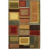 Found it at Wayfair - Pokhara Irridescent Blocks Multicolor Rug