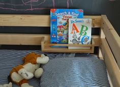 DIY // Loft Bed Book Storage by Meg Padgett from Revamp Homegoods