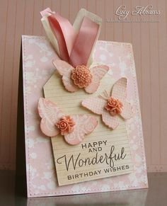Birthday Butterflies by Lucy Abrams, via Flickr
