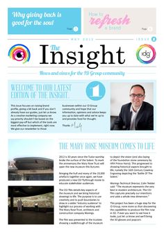 Our new newsletter/magazine out next week. All focusing on creative thinking!