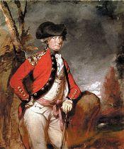 Portrait of Charles Cornwallis, commander of British troops at the 1781 siege of Yorktown, by Daniel Gardner, 1780s.