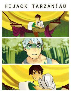 Hijack Tarzan!AU