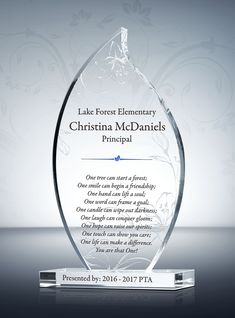 The Flame Teacher Appreciation Plaque Combines Artistry With A Passion For Education If You Are