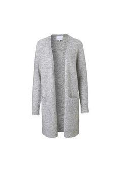 Second Female Brook knit new cardigan light grey Danish Fashion, Fashion Brand, Knitwear, Female, Knitting, Grey, Sweaters, How To Wear, King