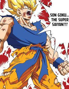 Son Goku, Super Saiyan, Artist Names, Dbz, Akira, Dragon Ball Z, Anime Art, Tupac Shakur, Fan Art