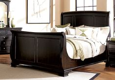 this will be the next bed frame i buy. love sleigh beds esp this one