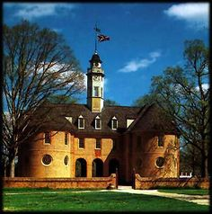 House Of Burgesses Williamsburg VA. Ancestor David Crawford Was A Member Of  The House.