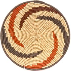 African Basket - Uganda - Rwenzori Bowl - Inches Across - Basket Weaving, Hand Weaving, Native American Baskets, Pine Needle Baskets, Vintage Baskets, Native Beadwork, Basket Decoration, Tapestry Crochet, Baskets On Wall