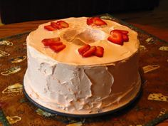 Strawberry Special Cake Recipe - Food.com