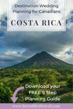 Costa Rica Destination Wedding Ideas !!
