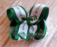Girl Scouts Ribbon Hair Accessories | Dainty Diva Bows - Accessories, Boutique Hair Bows, Woven Headbands ...