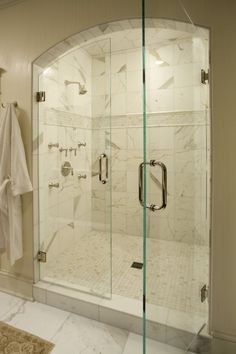 Something like this, but smaller? Framed even, like the vanity areas I like.