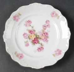 Schumann Bavaria Victorian Rose Plate