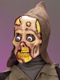 Zombie latexmaske - BlikfangsKostumer.dk