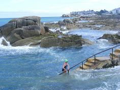 """""""The 40 Foot."""" Sandycove, Dublin.    This is where I swam in the Irish Sea. In Springtime. Preeeetty cold."""