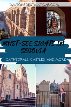 Looking to visit a Disney Castle in Europe? Segovia is the perfect destination! Explore Segovia, and find the inspiration behind the Cinderella castle! Barcelona Spain Travel, Visit Barcelona, Spain Road Trip, Spain Travel Guide, Fall Travel Outfit, Cinderella Castle, Where To Go, Travel Around, Day Trips