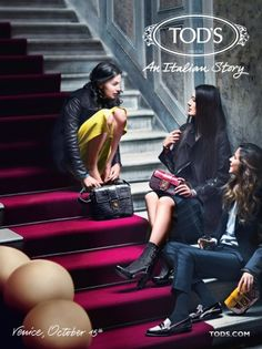 TOD'S Fall/Winter 2011 Campaign - My Face Hunter