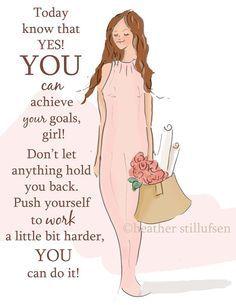 ...You can do it! - Rose Hill Designs: Heather Stillufsen ♥ ℳ ♥