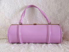 Vintage 60's Lavender Purse Handbag Unique by PursonalBaggage2, $48.00