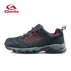 Clorts Suede Leather Hiking Shoes Outdoor Footwear