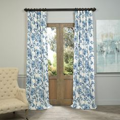 Decorative Things Extra Long Shower Curtain Fabric Shower Curtain Beach Shower Curtains for Bathroom Blue Bath Curtain Luxury Cotton Cloth 84 Inch Kelly Ripa Designer Fabric