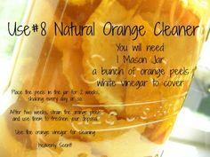 Homemade Hummingbird Nectar, Orange Cleaner, Cooking Supplies, Cleaners Homemade, Diy Cleaners, Orange Recipes, Fruit Recipes, Orange You Glad, Orange Fruit