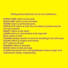 Switchwords healthwise