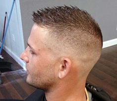 Bald Fade With Spiky Top