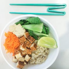 Asian inspired Buddha bowl- on the blog now! ✖️