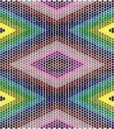 Geometric - Peyote stitch