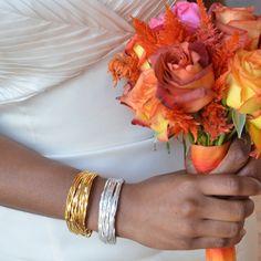Cuff Gold Vermeil Bracelet | KTcollection