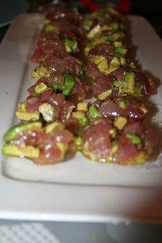 Fresh Tuna and Avocado - Tuna Tartar Recipe
