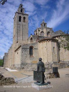 Monestir de Sant Cugat del Vallès Barcelona  Catalonia