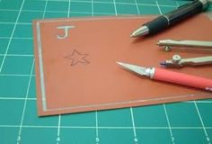 Re-usable Stencil Sheet suitable for use with etching cream