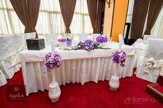 purple & lavender wedding flowers - nunta mov - lila