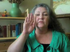 Video by SLP Pam Marshalla on how to teach vowels to severely apraxic kids.