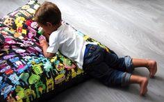 Burgerplex, cojines y papel para pared, decoración para la habitación de los niños