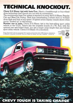 1983 Advertisement for Chevy S-10 Blazer