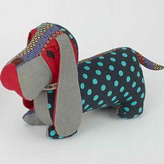 Dachshund Dog Door Stop Fabric Animals, Plush Animals, Dog Door Stop, Dog Tree, Tilda Toy, Dachshund Art, Easy Sewing Patterns, Stuffed Animal Patterns, Dog Accessories