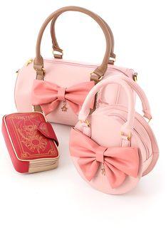 3 CC sakura bags set