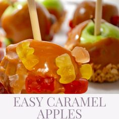 How to Make Fun Caramel Apples With Your Kids Simple Diy, Easy Diy, Caramel Apples, Desserts, How To Make, Fun, Recipes, Kids, Children