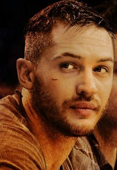 Tom Hardy. I have always pictured him as Hunter Kinsely from Seventh Inning Hero. He has this naked vulnerability about him, even when he's scowling and standoffish.