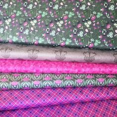 Deer Tree Thistles Grey - Bundle - Cotton Celtic, Lily, Quilts, My Love, Thistles, Fabric, Cotton, Deer, Design